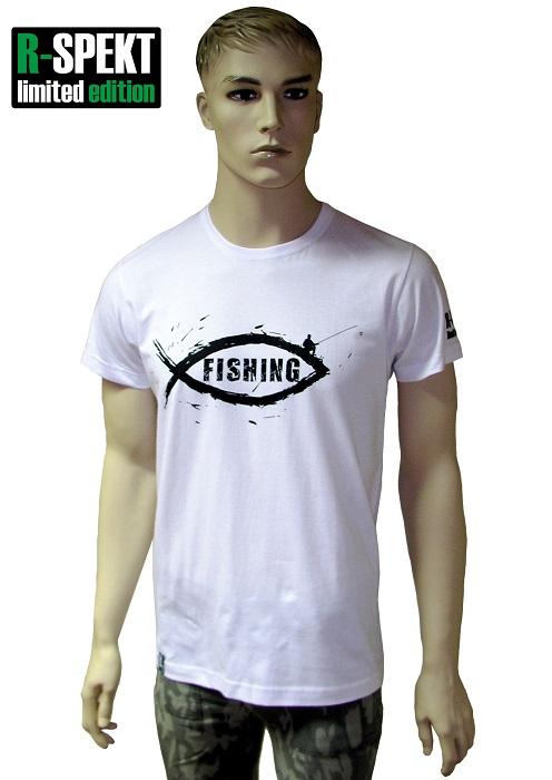 R-spekt tričko fishing-veľkosť xl