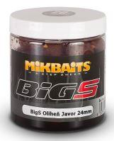 Mikbaits Boilies v Dipe BigS Oliheň Javor 250 ml-24mm