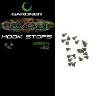 Gardner Zarážka Zvonová Covert Hook Stops-Hnedé