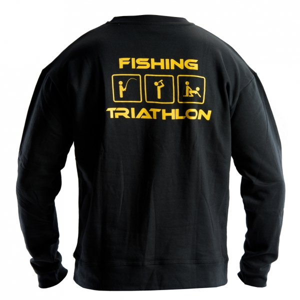 Doc fishing mikina triathlon čierna - xxxl