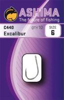 Ashima  Háčiky C440 Excalibur  (10ks)-Veľkosť 6