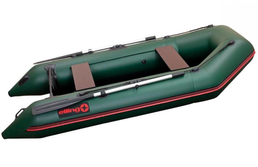 Elling čln forsag s pevnou skladacou podlahou zelený 270
