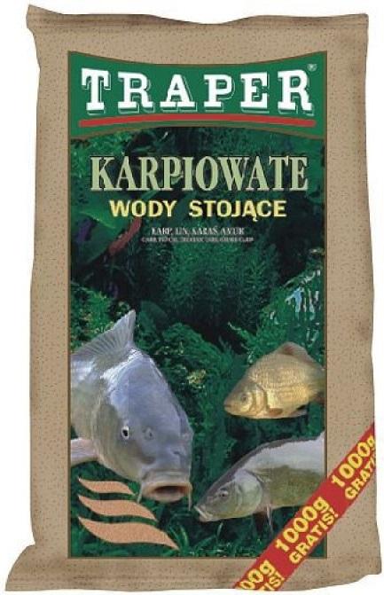 Traper krmítková zmes popular karp na stojatú vodu 5 kg