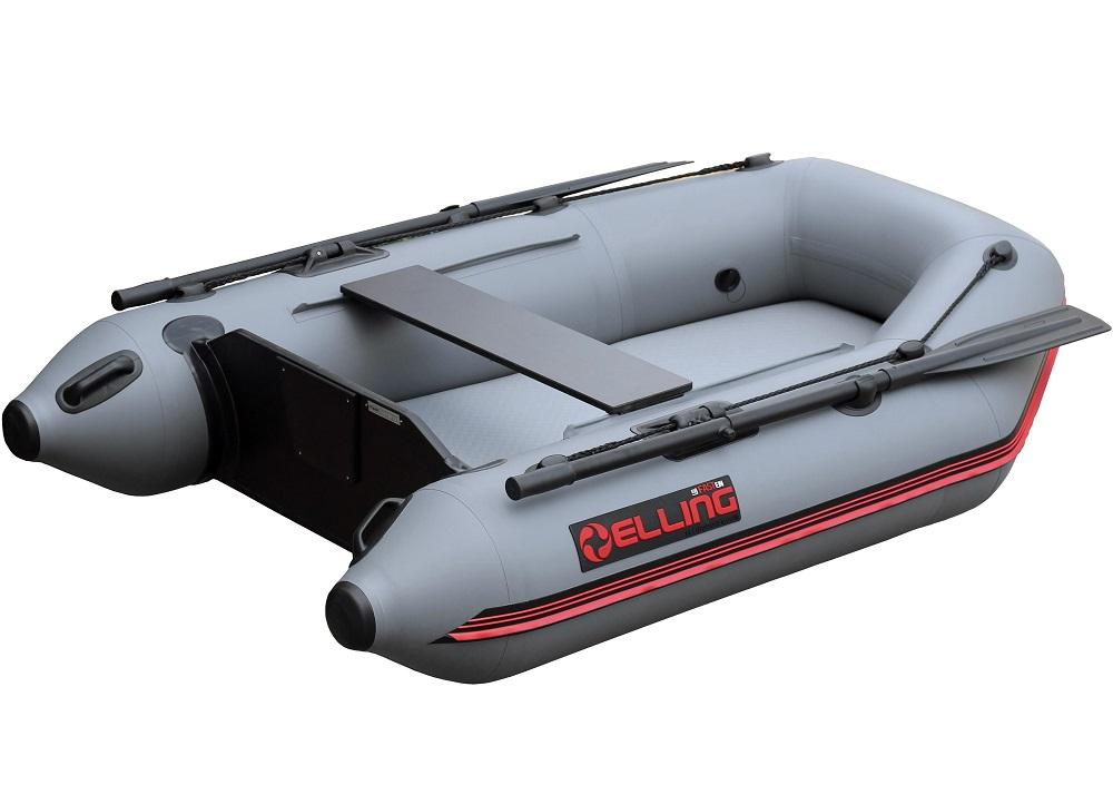 Elling čln t200 široký s nafukovacou podlahou šedý 200