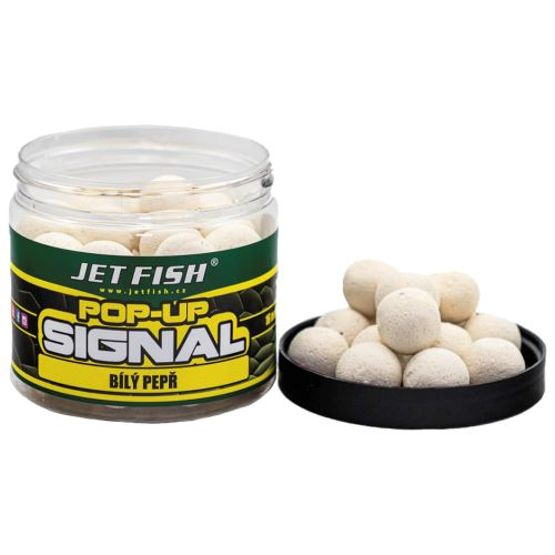 Jet Fish Signal Pop Up Biele Korenie