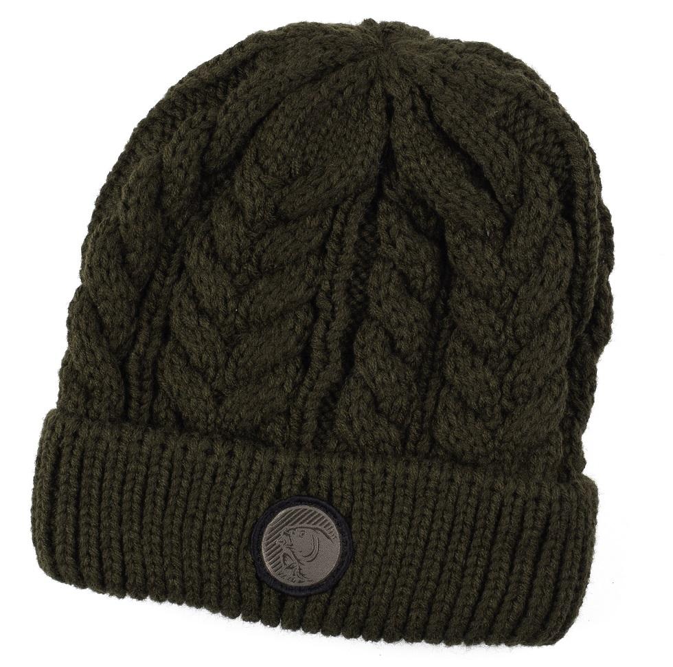 Nash zimná čiapka chunky knit beanie