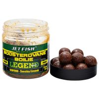 Jet Fish Boosterované Boilie Legend Range Seafood Slivka Cesnak 20 mm 250 ml