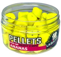 LK Baits Pop-Up Pelety V Dipe 12 mm 40 g - Ananás