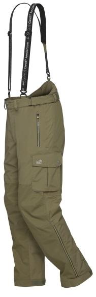 Geoff anderson nohavice urus 5 zelené - veľkosť xxxxl