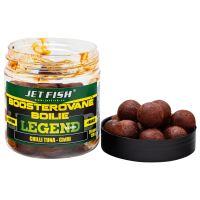Jet Fish Boosterované Boilie Legend Range Chilli Tuna 24 mm 250 ml