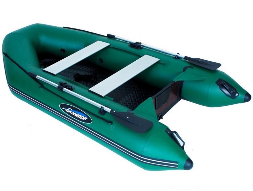 Gladiátor čln nafukovací ak300 ad zelený