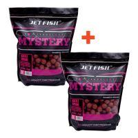 Jet Fish Boilie Mystery Krill Krab 3 kg 24 mm 1+1 Zdarma