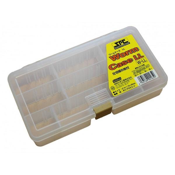 Meiho rybársky box transparentný sfc worm ll
