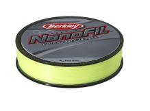 Berkley Vlasec Nanofil Fluo žltá 125 m-Priemer 0,22 mm / Nosnosť 14,715 kg