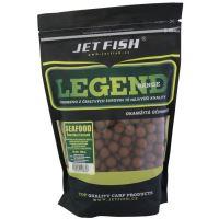 Jet Fish  Boilie Legend Range Seafood Slivka Cesnak - 1 kg 24 mm