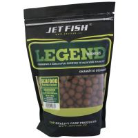 Jet Fish  Boilie Legend Range Seafood Slivka Cesnak - 250 g 24 mm