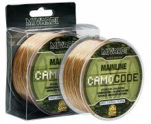Mivardi Vlasec CamoCode Mainline Camo 600 m - Priemer 0,355 mm / Nosnosť 12,60 kg