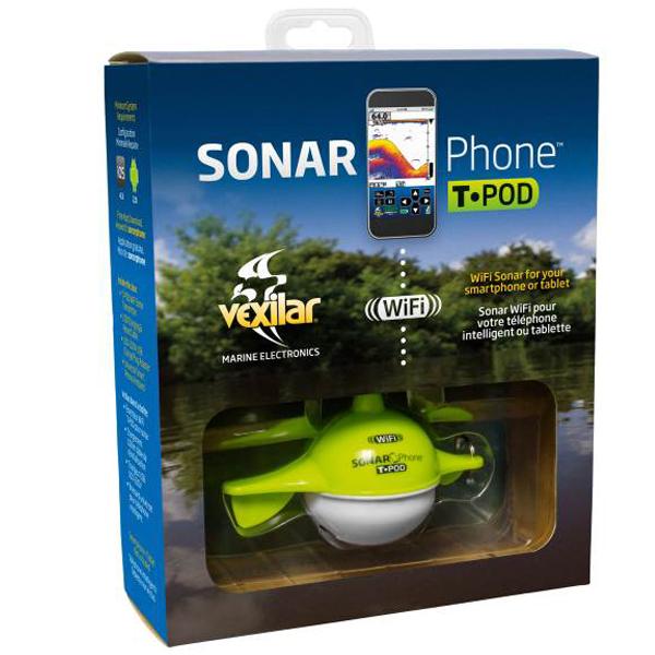 Vexilar nahadzovací sonar sp100 sonarphone wifi