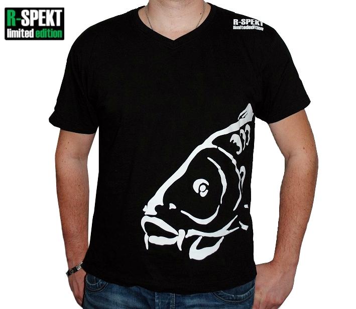 R-spekt tričko carper čierne-veľkosť s