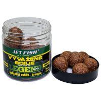 Jet Fish Vyvážené Boilie Legend Range Korenený Tuniak Broskev 24 mm 250 ml