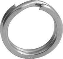 Black Cat extreme split ring krúžok pevnostný 10 ks-Veľ. 10,5mm - 50kg