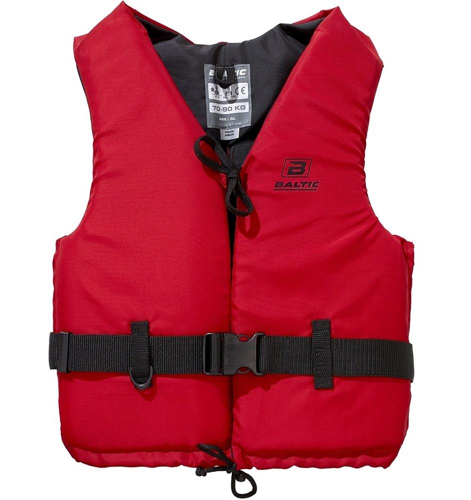 Baltic vesta plávacia aqua 50n červená-veľkosť s 30-50 kg