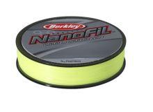 Berkley Vlasec Nanofil Fluo žltá 125 m-Priemer 0,15 mm / Nosnosť 7,659 kg