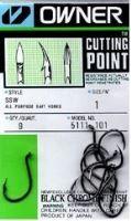 Owner háčik s očkom + cutting point  5111 - Veľkosť 3/0