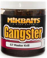 Mikbaits Boilies v dipe Gangster 250 ml-G7 master krill 16mm