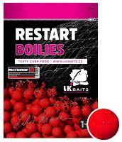 LK Baits Boilie ReStart Wild Strawberry - 1 kg 24 mm