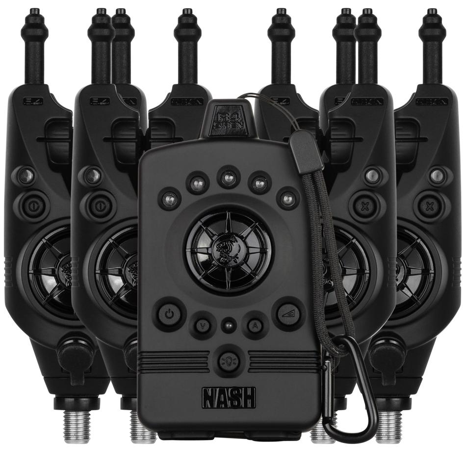 Nash sada signalizátorov záberu siren r4 alarm - 4+1