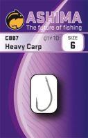 Ashima  Háčiky  C887 Heavy Carp  (10ks)-Veľkosť 8