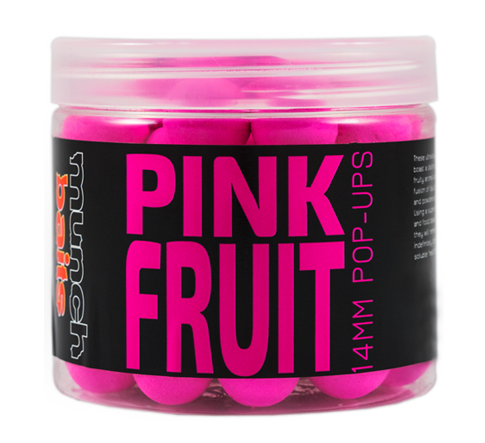 Munch baits pop-ups pink fruit 200 ml-18 mm