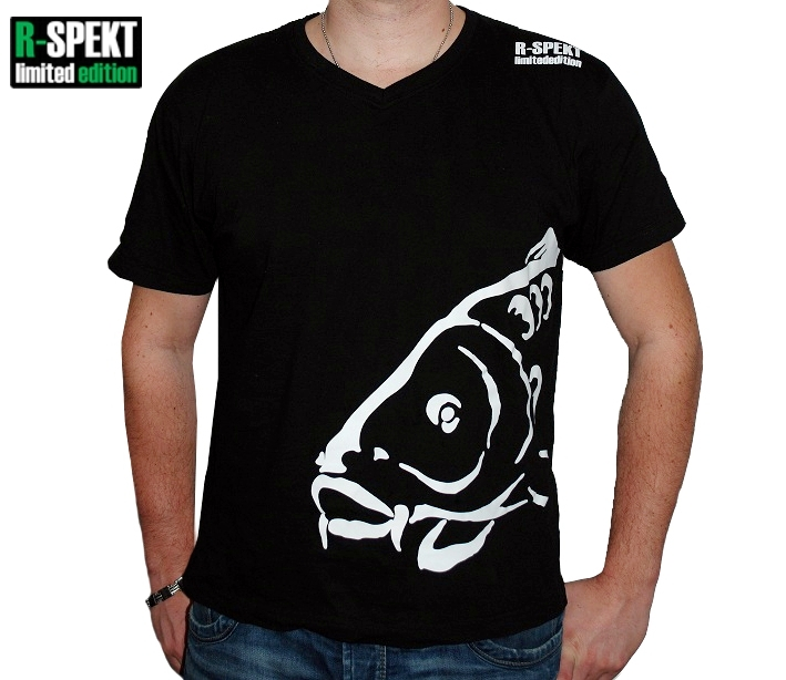 R-spekt tričko carper čierne-veľkosť xxxl
