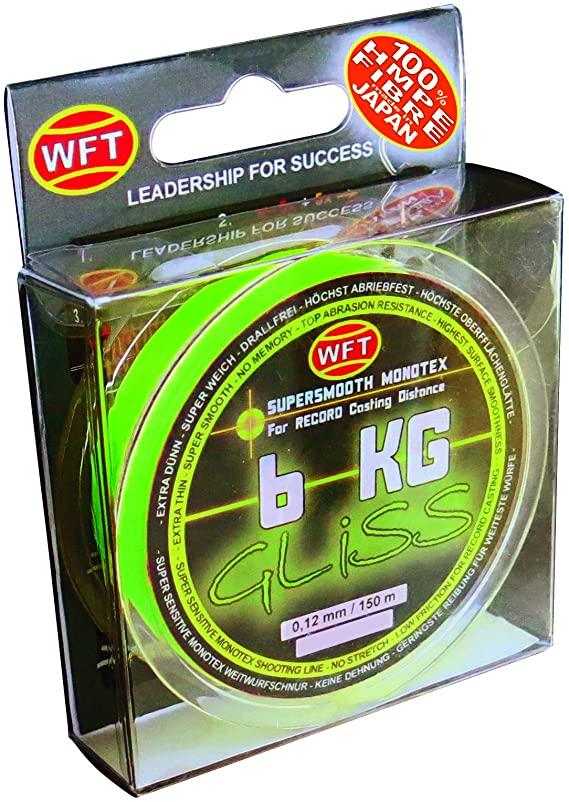 Wft šnúra gliss kg chartreuse 150 m - 0,14 mm 8 kg