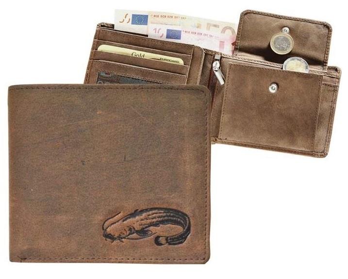 Kožená rybárská peňaženka 40 - sumec