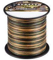 Spiderwire Splietané šnúra Stealth camo-Priemer 0,40mm / Nosnosť 59,4kg / Návin 1 m