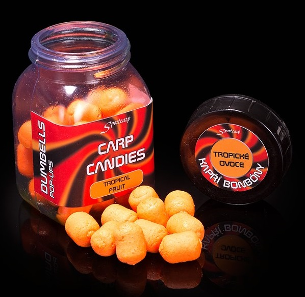 Sportcarp plávajúce nástrahy carp candies mini 100 ml 11 mm-halibut