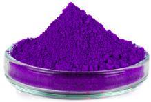 Mikbaits farbivá 20 g-Fluoro modrá