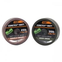 Fox Edges Matt Coretex 20 m-Gravelly Brown / Nosnosť 35 lb / Farba Brown