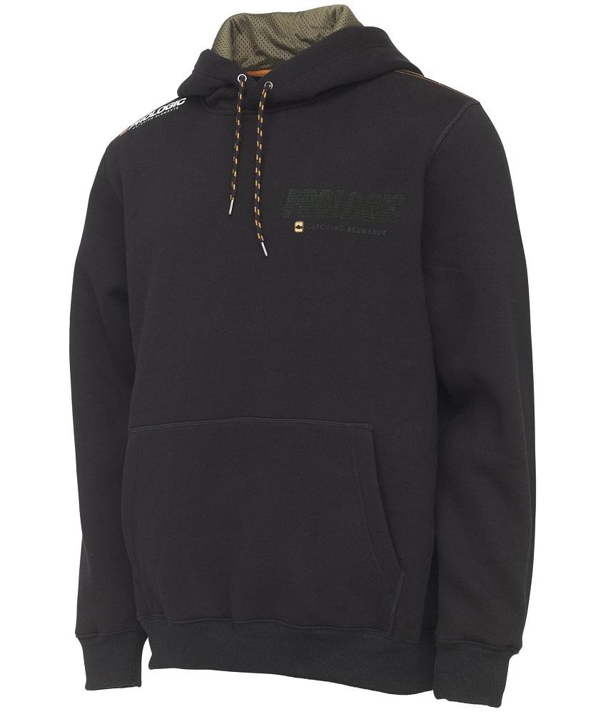 Prologic mikina carp logo hoodie black ink - xl