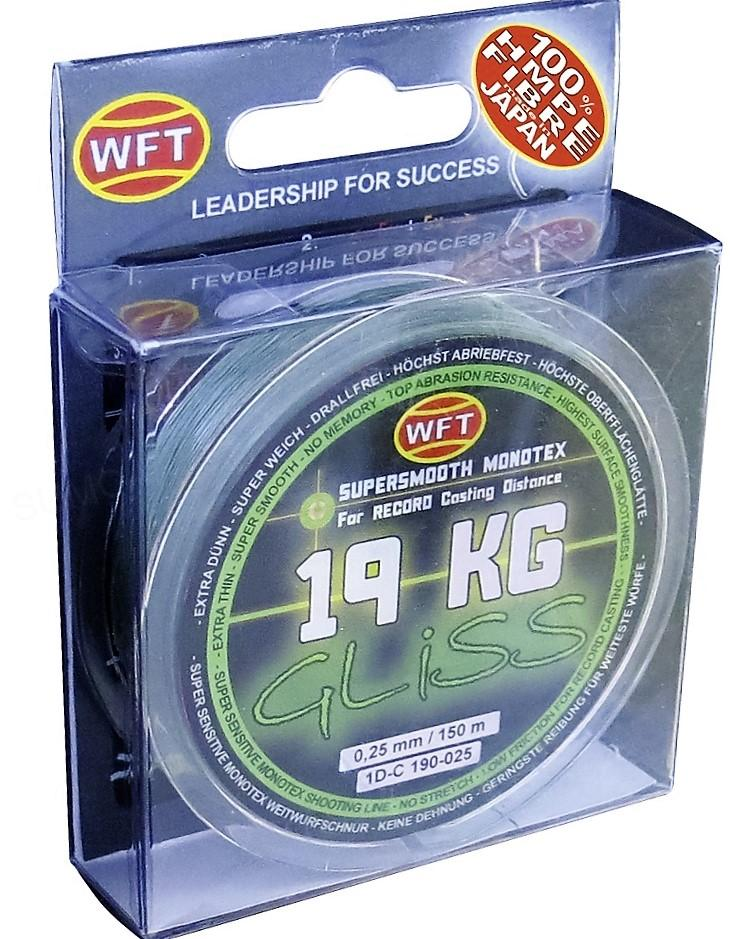 Wft šnúra gliss kg zelená 150 m - 0,10 mm 4 kg