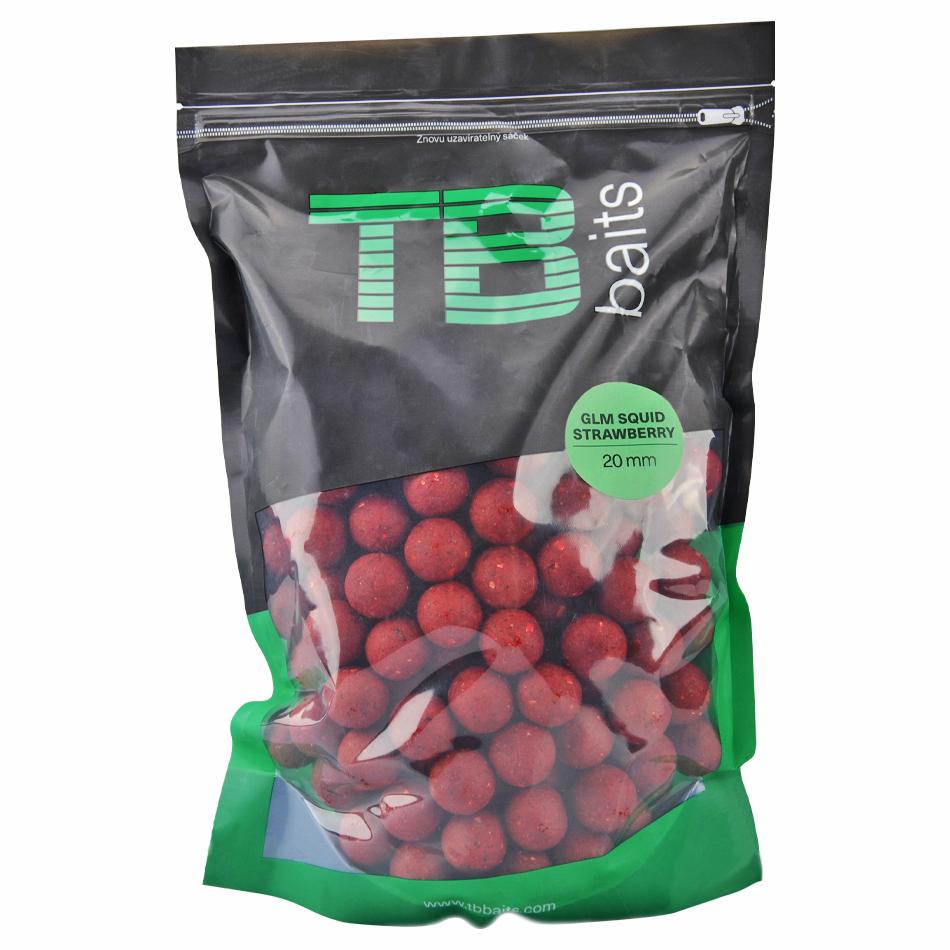 Tb baits boilie glm squid strawberry-2,5 kg 24 mm