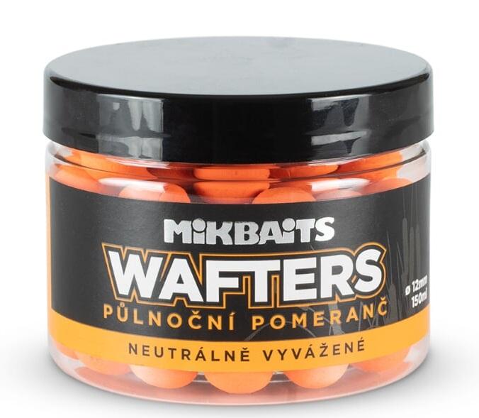 Mikbaits boilie wafters polnočný pomaranč 150 ml 12 mm