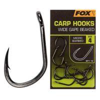 Fox Háčiky Wide Gape Beaked 10 ks - Veľkosť 8