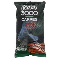 Sensas Kŕmenie Carpes 3000 1 kg - Kapor Červený