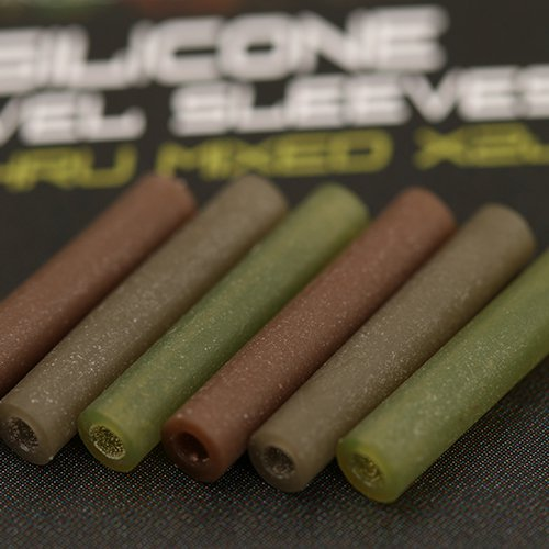 Gardner hadičky c-thru silicone swivel sleeves-hnedá