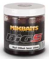Mikbaits Boilies v Dipe BigS Oliheň Javor 250 ml-20mm