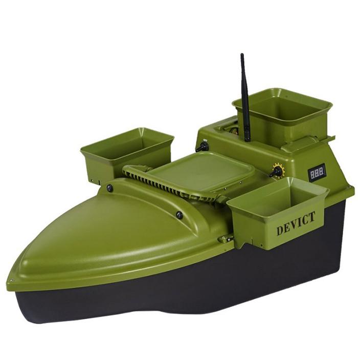 Devict zavážacia loďka tanker triple zelená