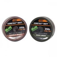 Fox Edges Matt Coretex 20 m-Gravelly Brown / Nosnosť 20 lb / Farba Brown